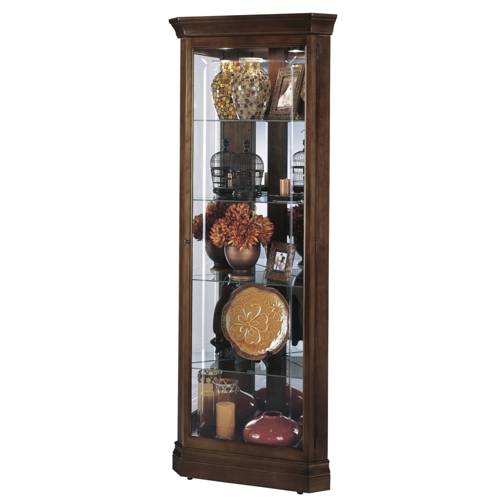 Image for Howard Miller Jennings Corner Curio Cabinet 680346 from Howard Miller Official Website