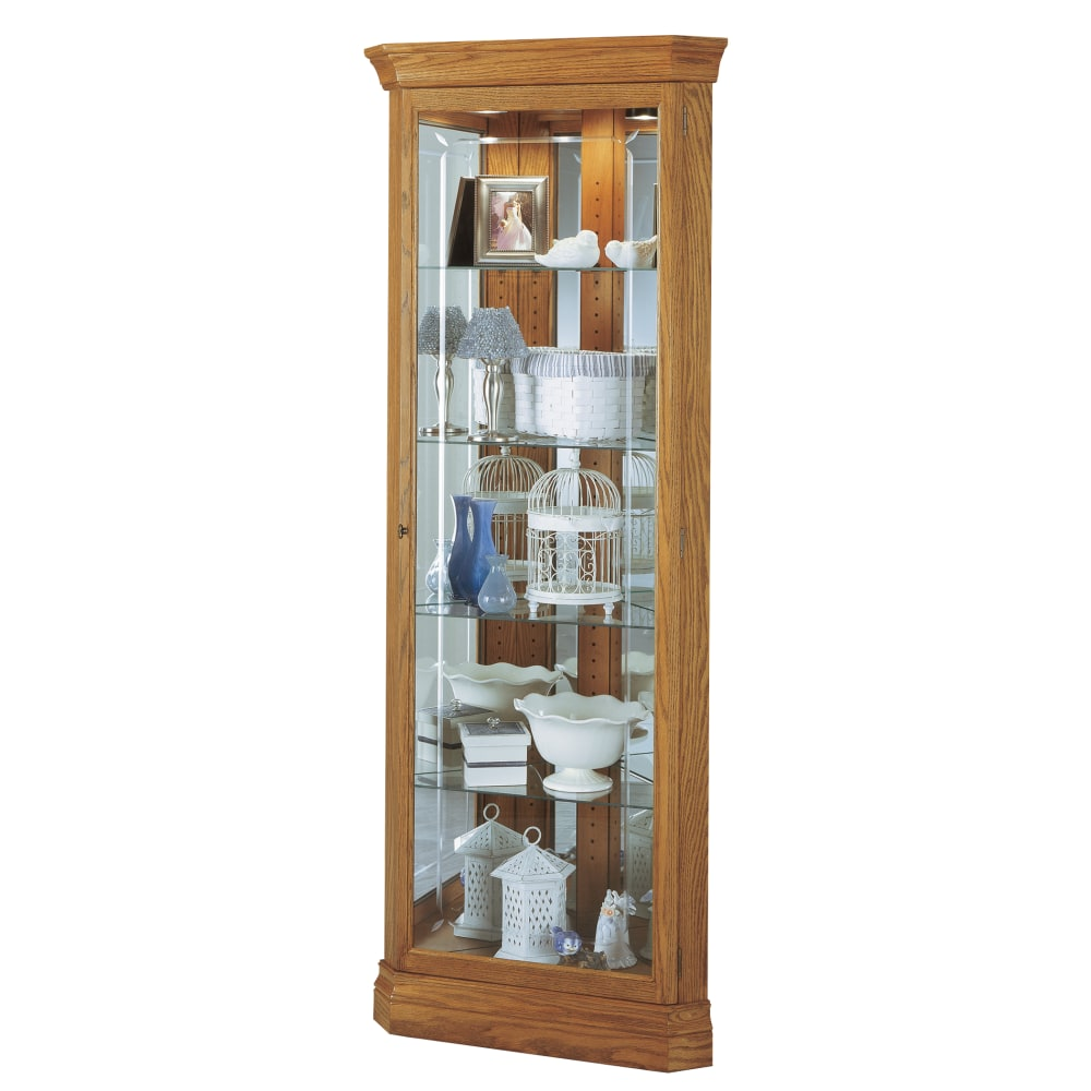 Image for Howard Miller Hammond Corner Curio Cabinet 680347 from Howard Miller Official Website