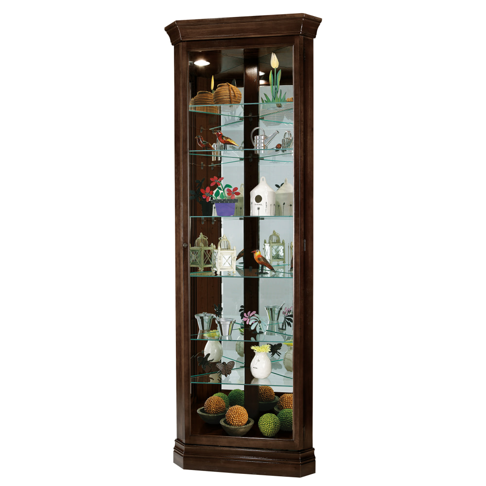 Image for Howard Miller Dustin Curio Cabinet 680484 from Howard Miller Official Website