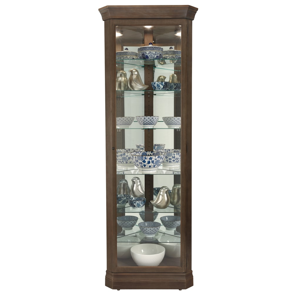Image for Howard Miller Delia Corner Curio Cabinet 680641 from Howard Miller Official Website