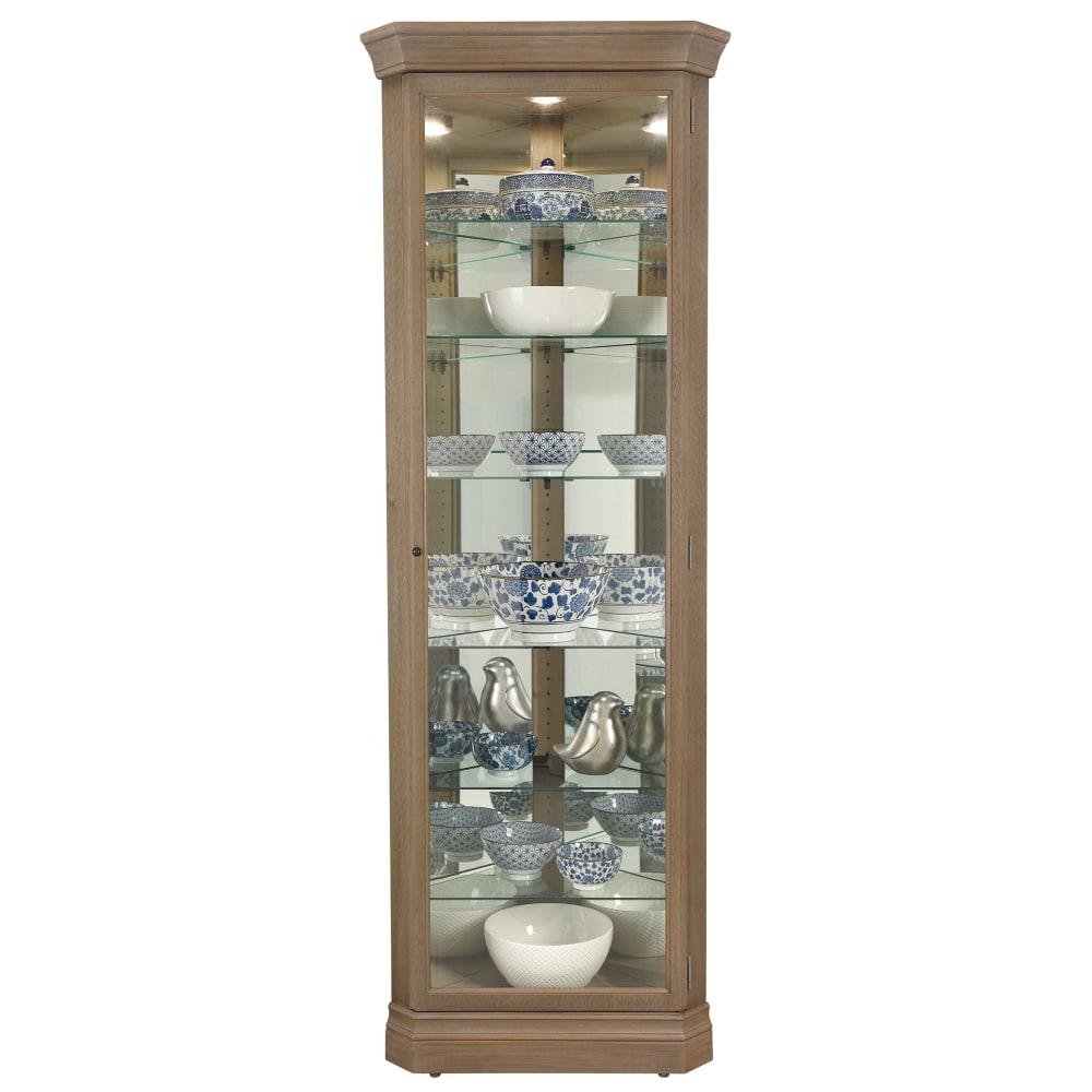 Image for Howard Miller Delia III Corner Curio Cabinet 680643 from Howard Miller Official Website