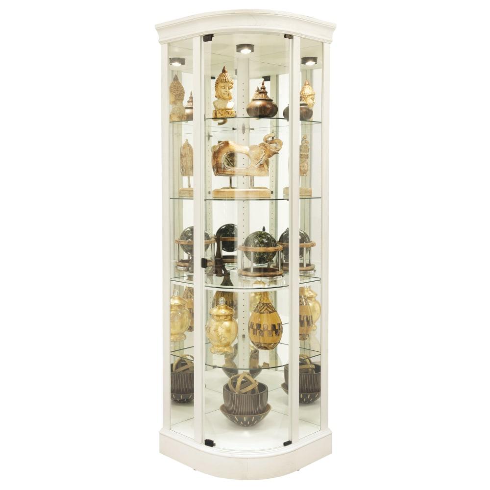 Image for Howard Miller Marlowe IV Corner Curio Cabinet 680665 from Howard Miller Official Website