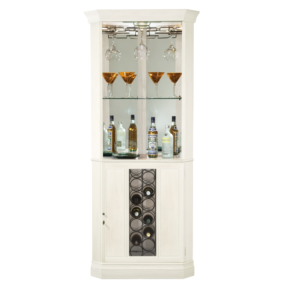 Image for 690-046 Piedmont V Corner Wine & Bar Cabinet from Howard Miller Official Website