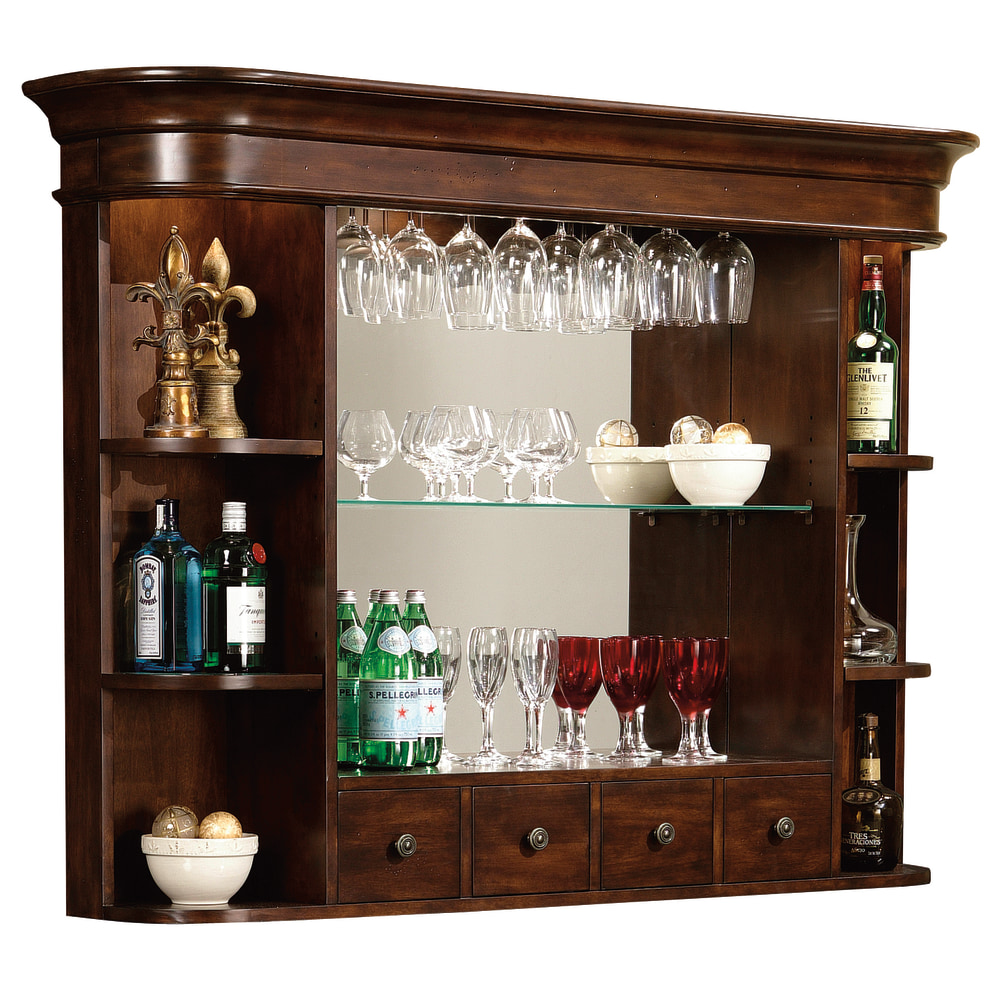 Image for 693-007 Niagara Bar Hutch from Howard Miller Official Website