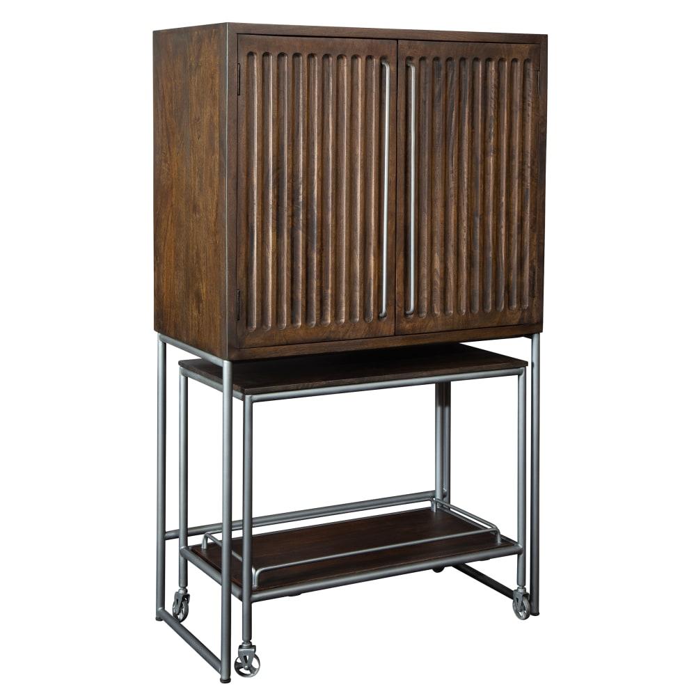 Image for 695-222 Bar Cart Wine & Bar Cabinet from Howard Miller Official Website