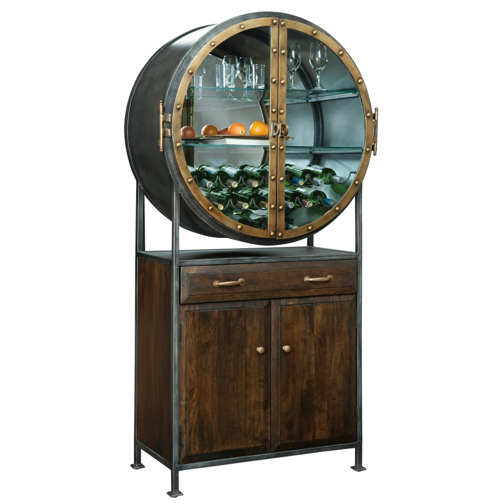 Image for 695-236 Rob Roy Wine & Bar Cabinet from Howard Miller Official Website