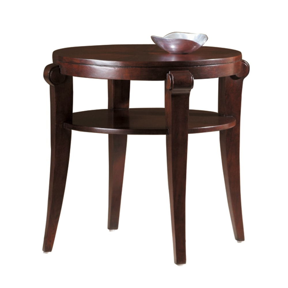 Image for 704030067 Metropolis Round End Table from Hekman Official Website