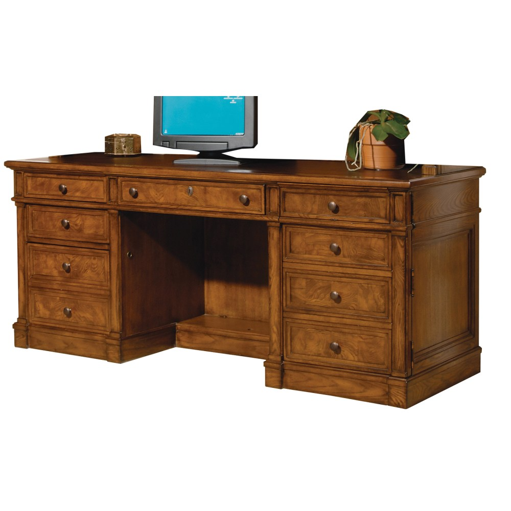 Image for 7-9101 Urban Ash Executive Credenza from Hekman Official Website