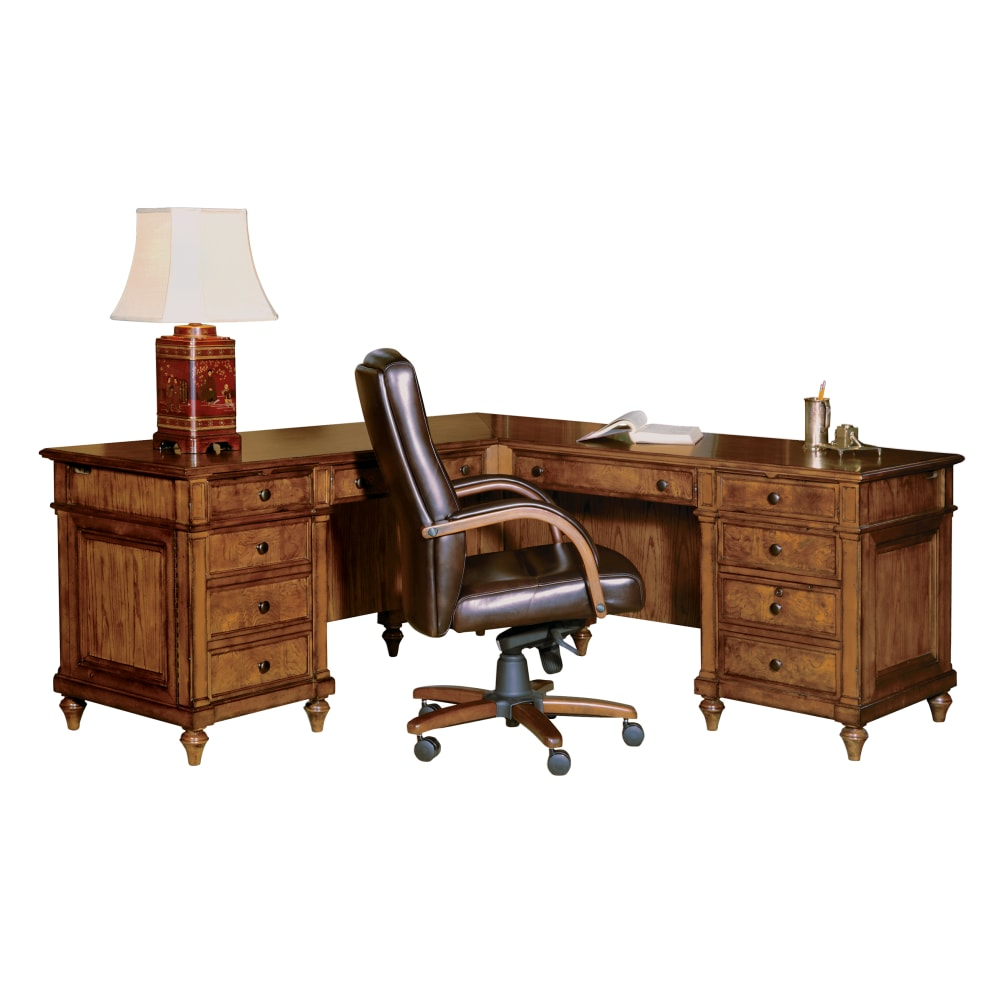 Image for 7-9107 Urban Ash Executive L-Desk from Hekman Official Website