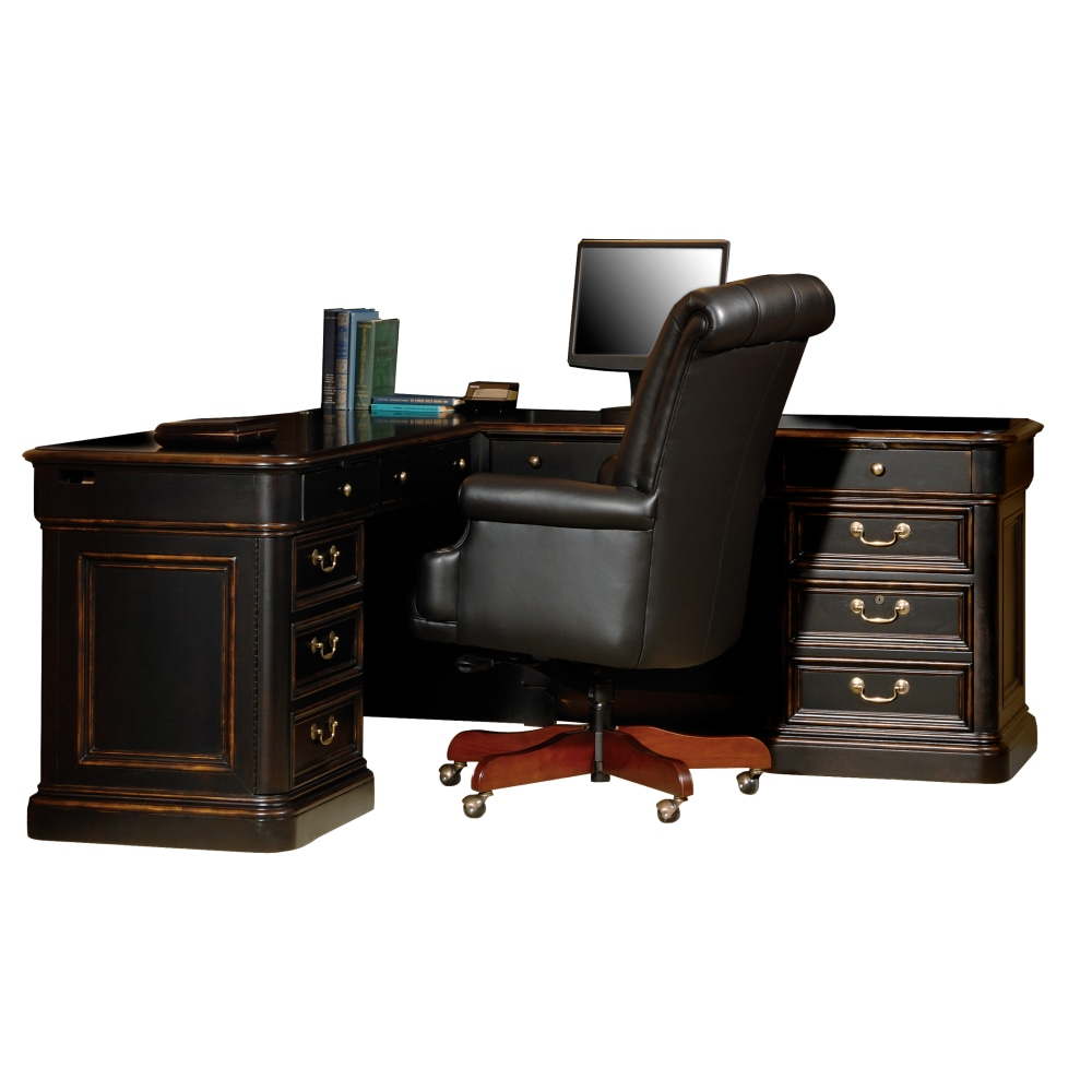 Image for 7-9147 Louis Philippe Executive L-Desk from Hekman Official Website