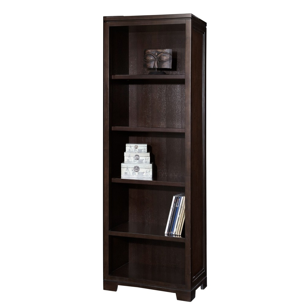 Image for 7-9185 Mocha Narrow Bookcase from Hekman Official Website