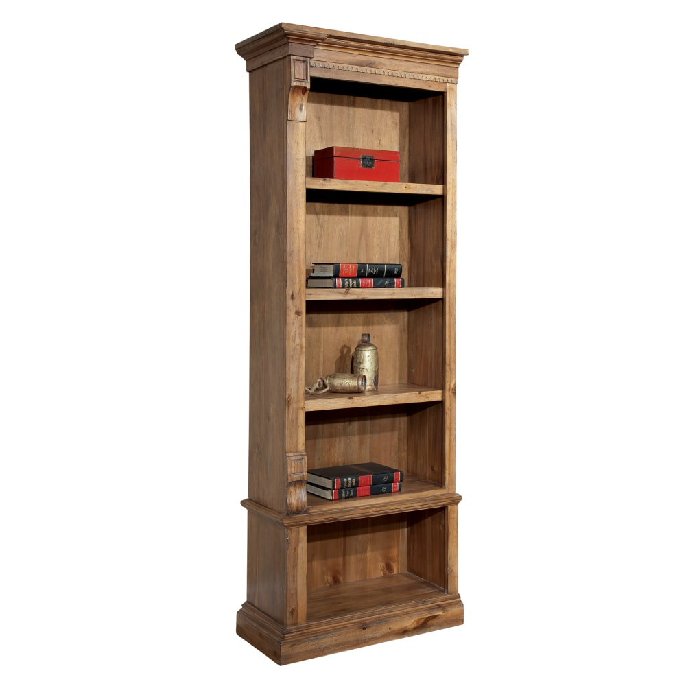 Image for 7-9306 Wellington Left Pier Bookcase from Hekman Official Website