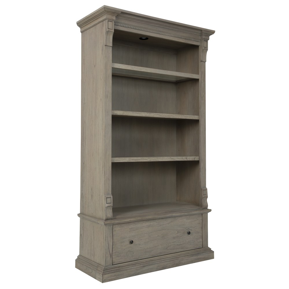 Image for 79404 Wellington Estates Executive Bookcase Center from Hekman Official Website