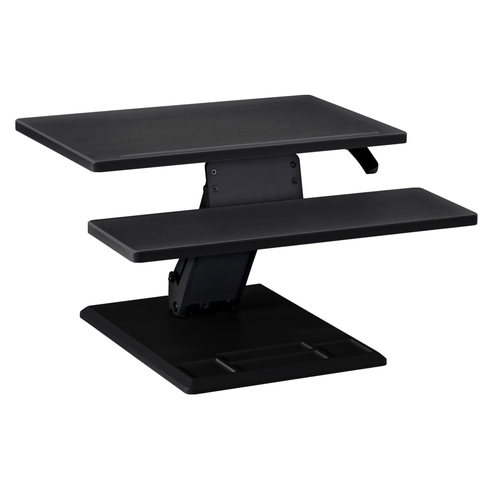 SmartMoves Sit to Stand Desktop Converter - Single Cylinder - Rectangle