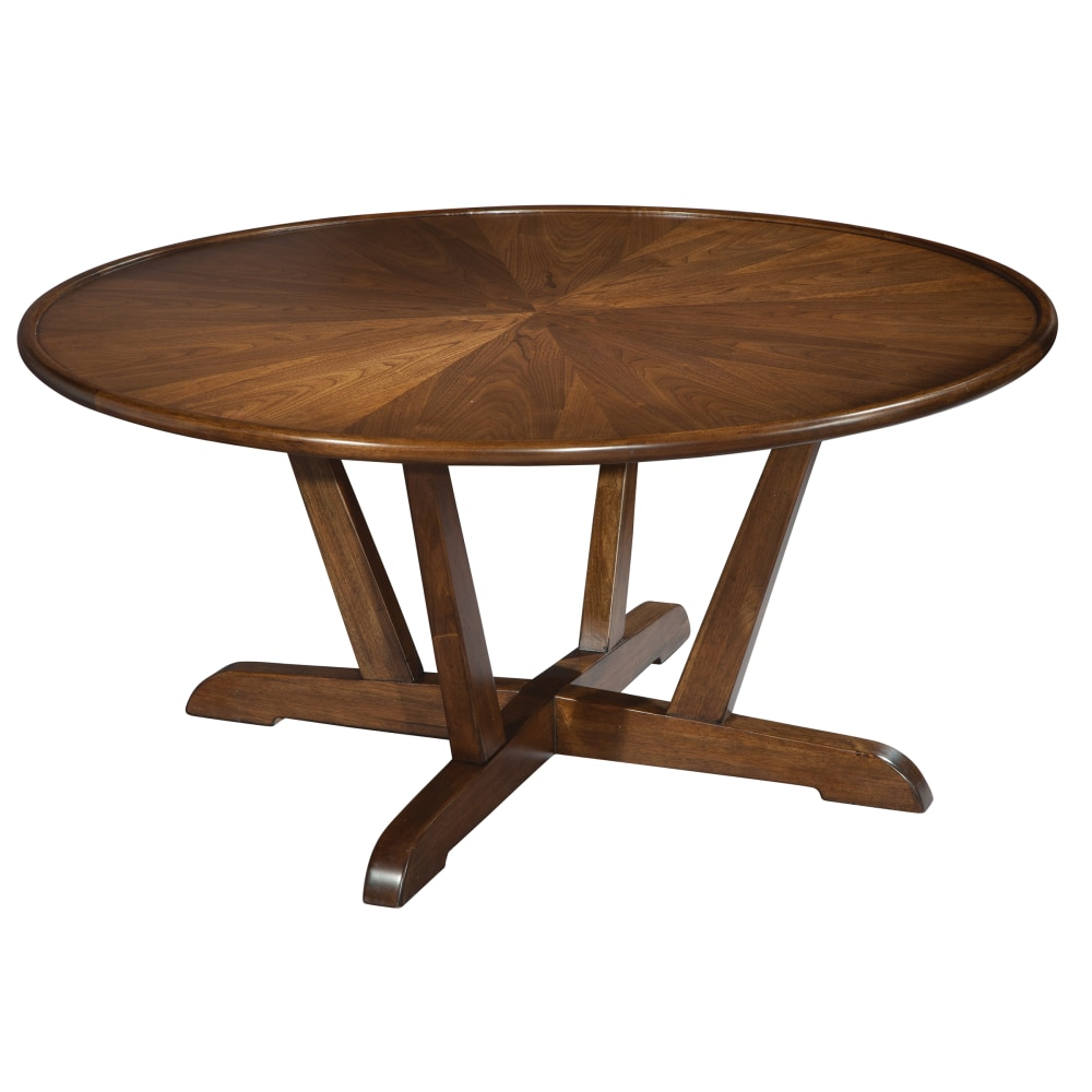 Image for 951302MW Mid Century Modern Round Coffee Table from Hekman Official Website