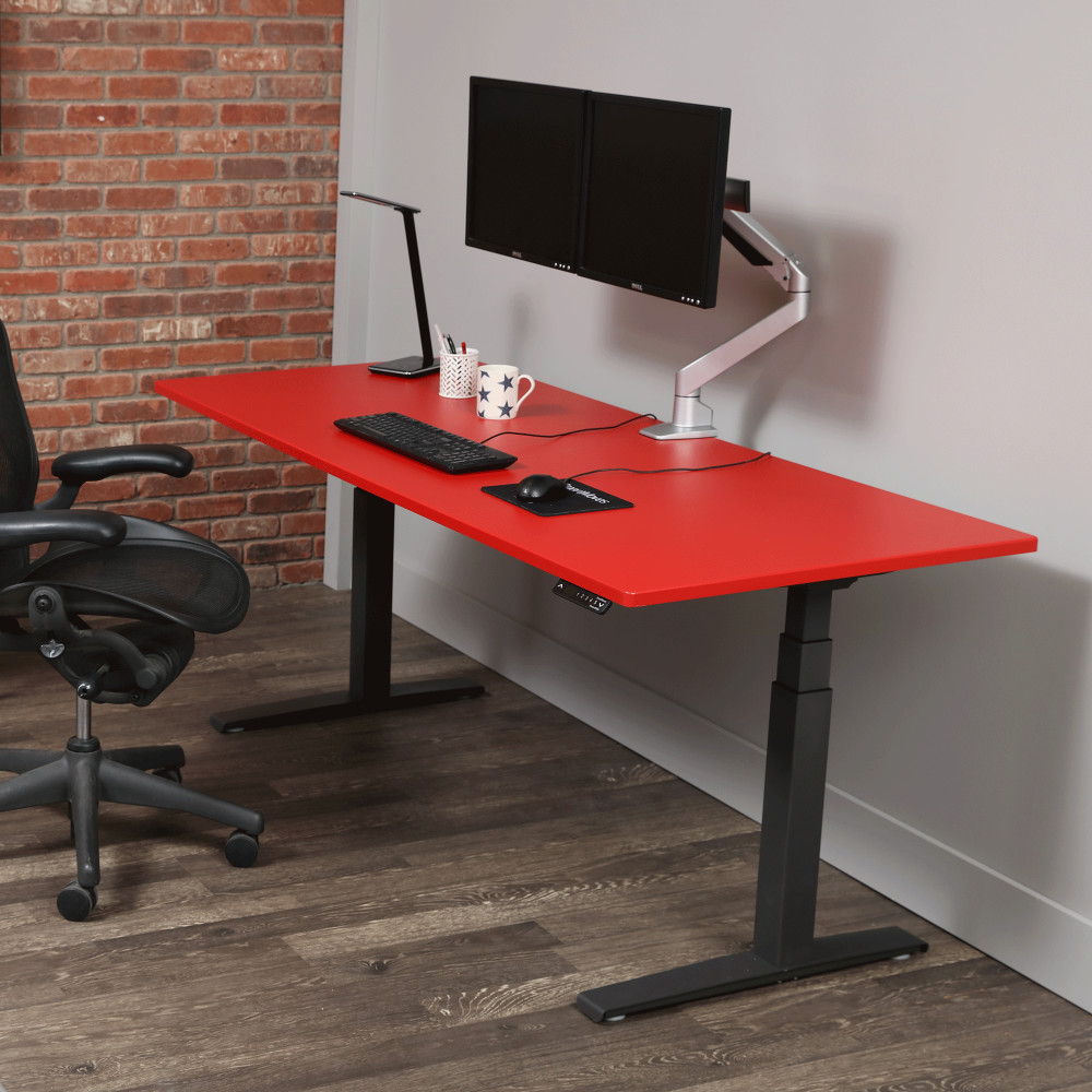 "Image for SmartMoves 72"" Dual Electric Motor Adjustable Height Desk from Howard Miller Official Website"