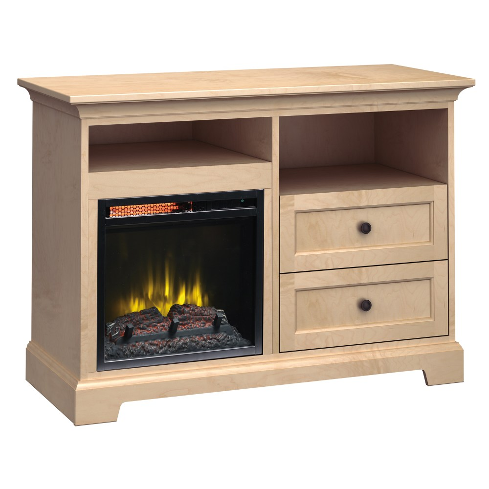 Image for FP46C Fireplace Custom TV Console from Howard Miller Official Website