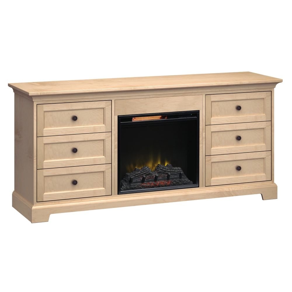 Image for FP72J Fireplace Custom TV Console from Howard Miller Official Website