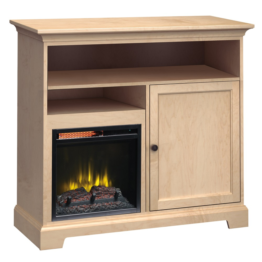 Image for FT46A Extra Tall Fireplace Custom TV Console from Howard Miller Official Website