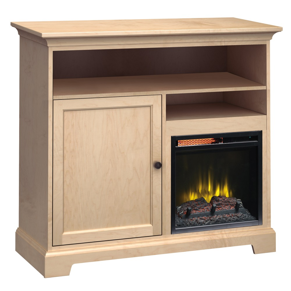 Image for FT46B Extra Tall Fireplace Custom TV Console from Howard Miller Official Website