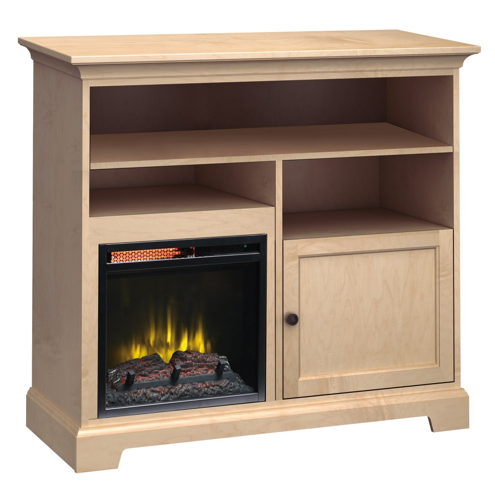 Image for FT46C Extra Tall Fireplace Custom TV Console from Howard Miller Official Website