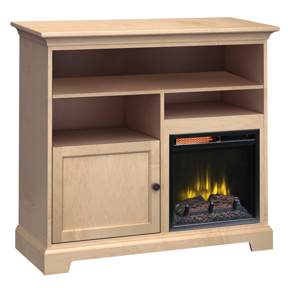 Image for FT46D Extra Tall Fireplace Custom TV Console from Howard Miller Official Website