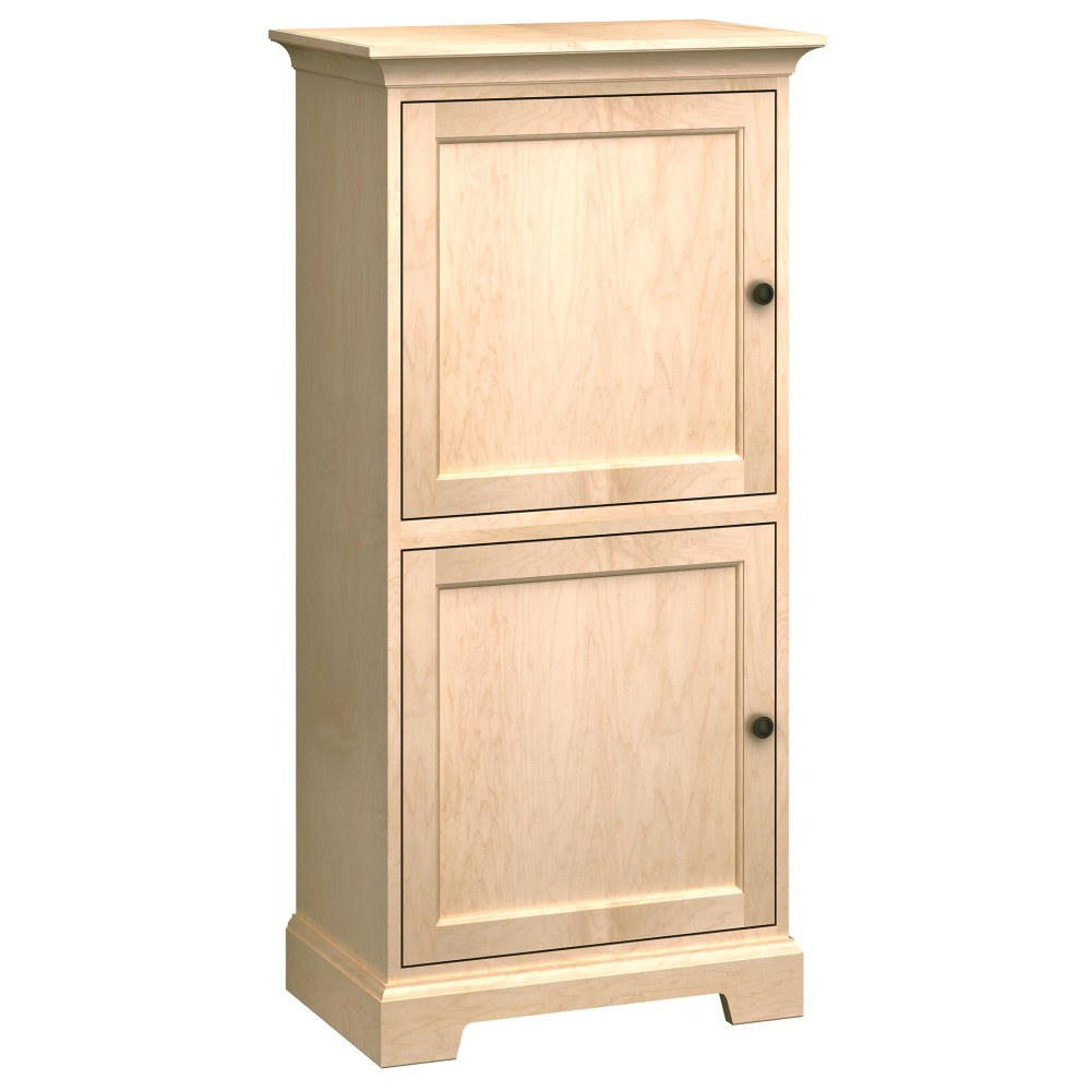 Image for HS27G Custom Home Storage Cabinet from Howard Miller Official Website