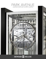 Park Avenue Limited Edition Floor Clocks