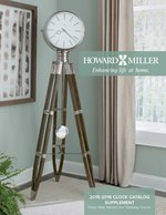 Howard Miller 2016 Clock Catalog Supplement