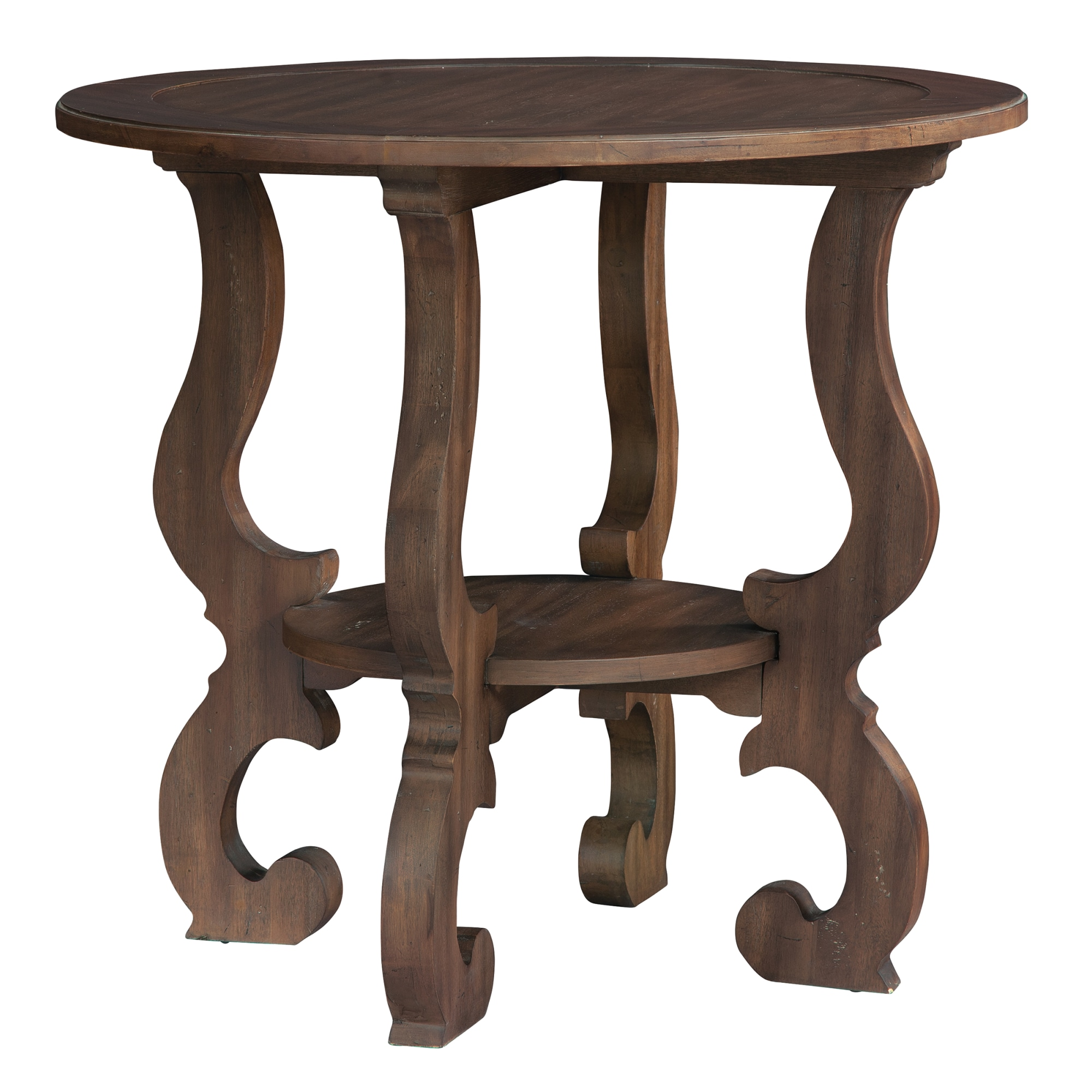 Image for 1-6106 Napa Valley Baroque Round Lamp Table from Hekman Official Website