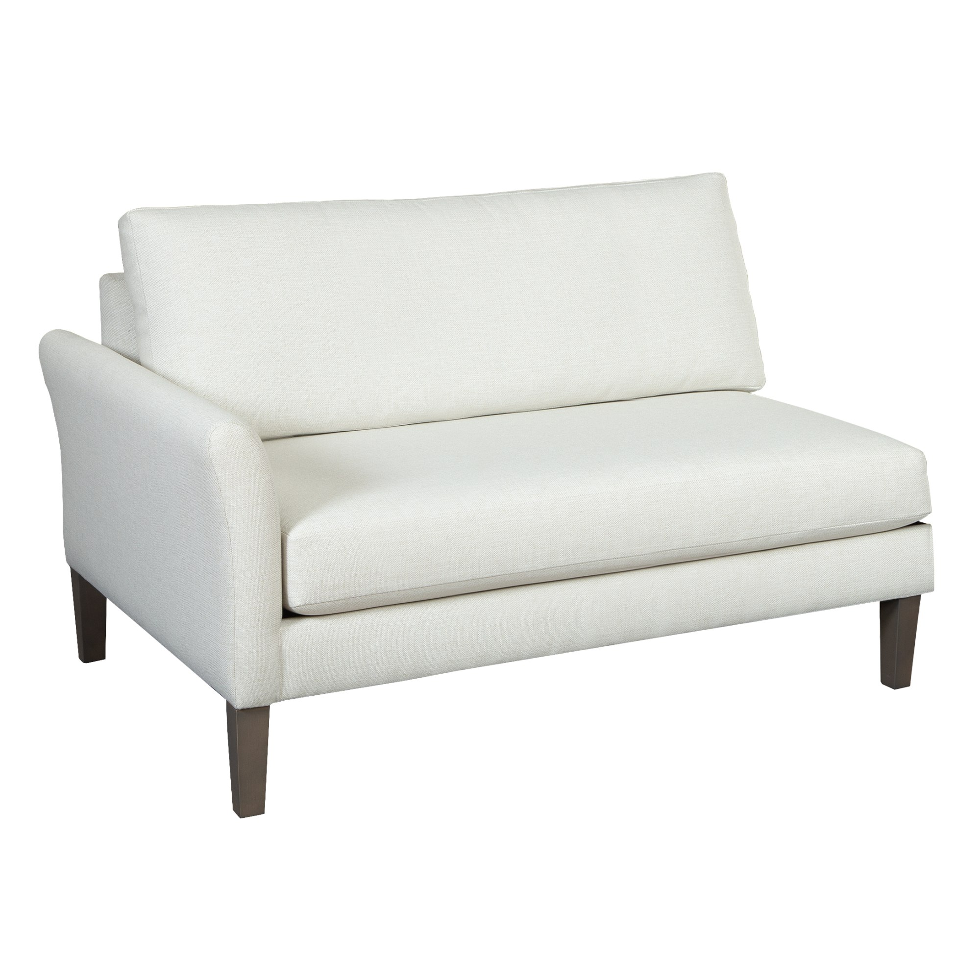 Image for 174363 Metro Flared Arm Single Arm Sofa LAF from Hekman Official Website