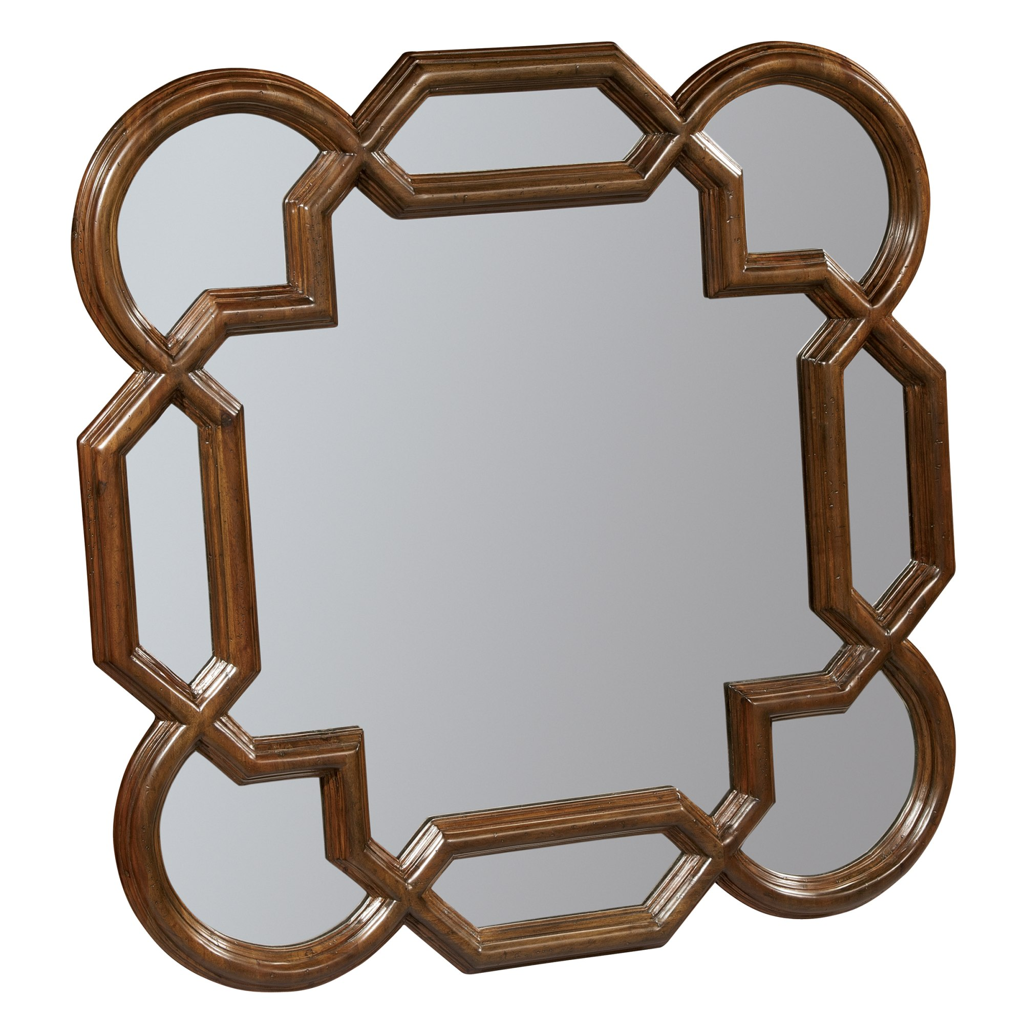 Image for 2-3273 Vintage European Square Lattice Mirror from Hekman Official Website