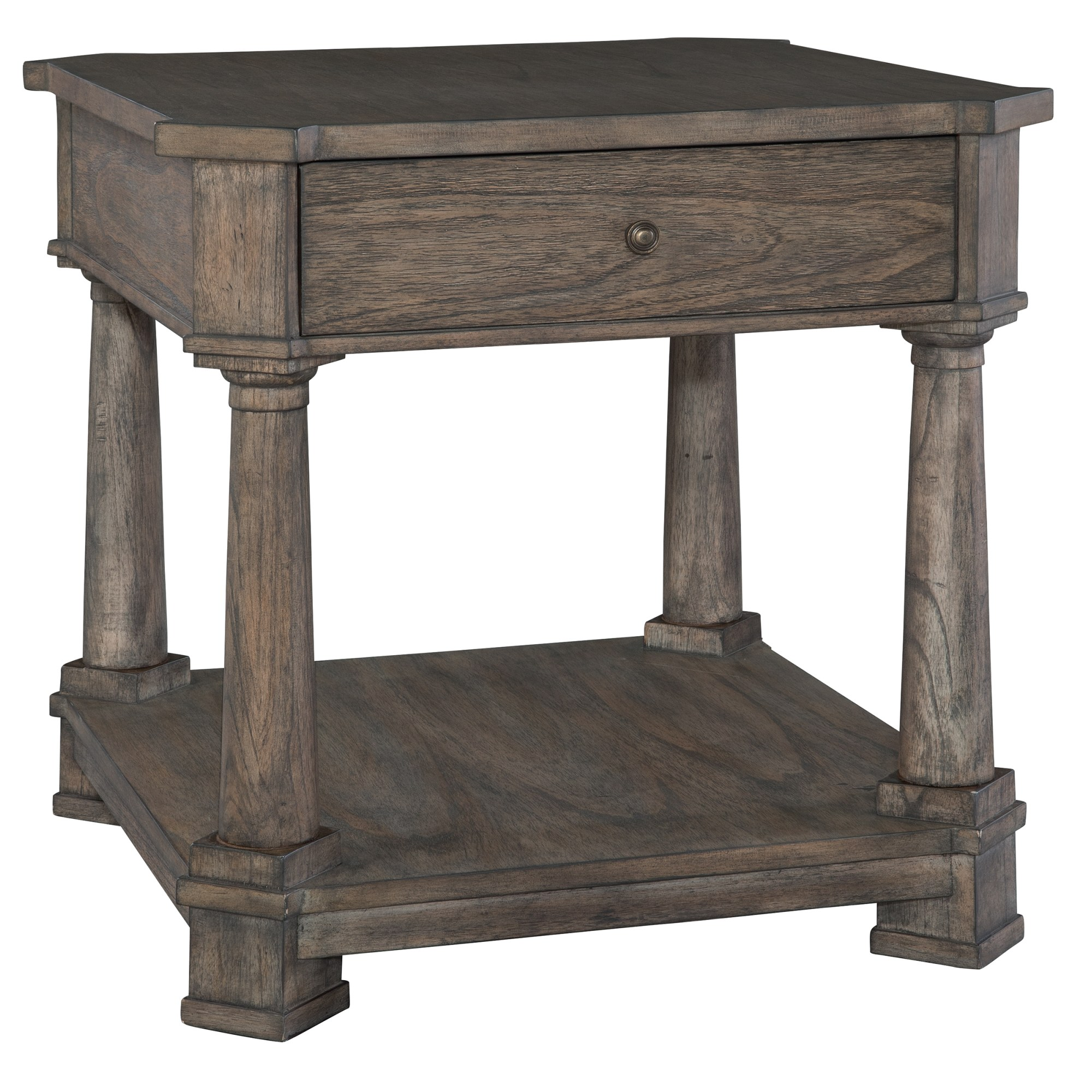 Image for 2-3503 Lincoln Park Drawer Lamp Table from Hekman Official Website