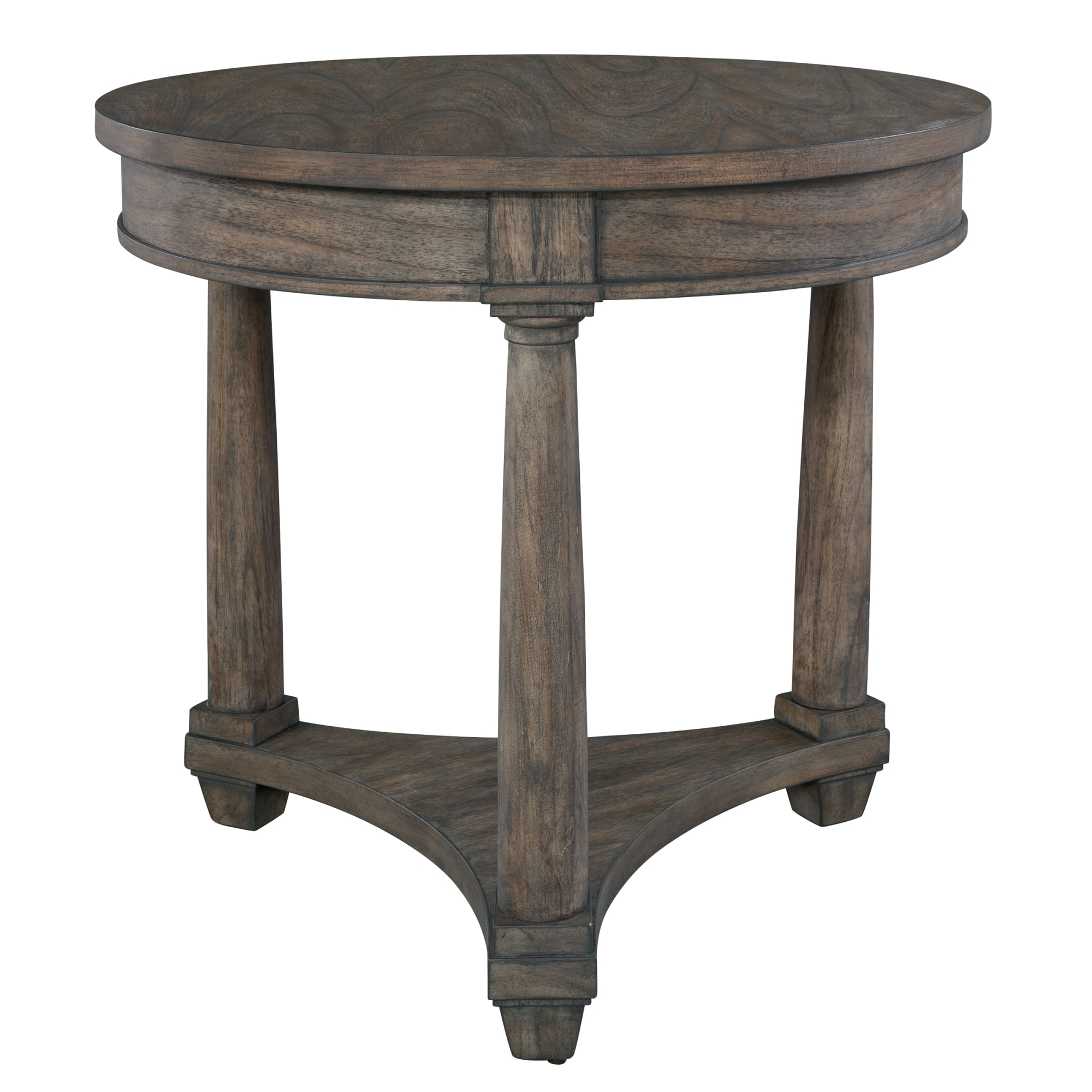 Image for 2-3504 Lincoln Park Round Lamp Table from Hekman Official Website