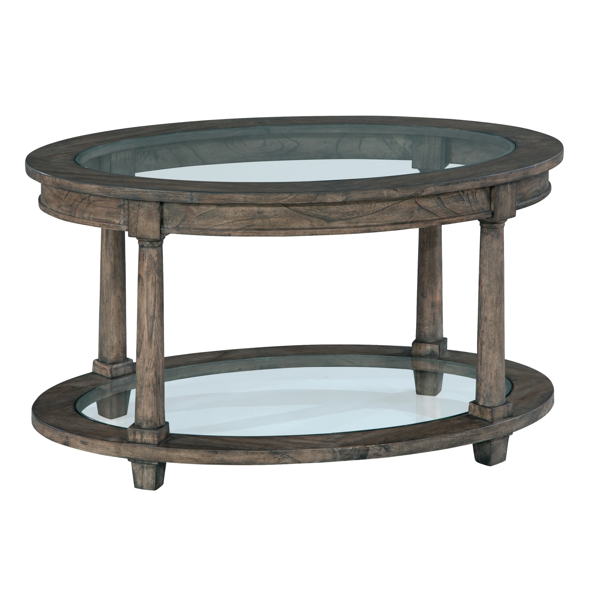 Image for 2-3505 Lincoln Park Oval Coffee Table from Hekman Official Website