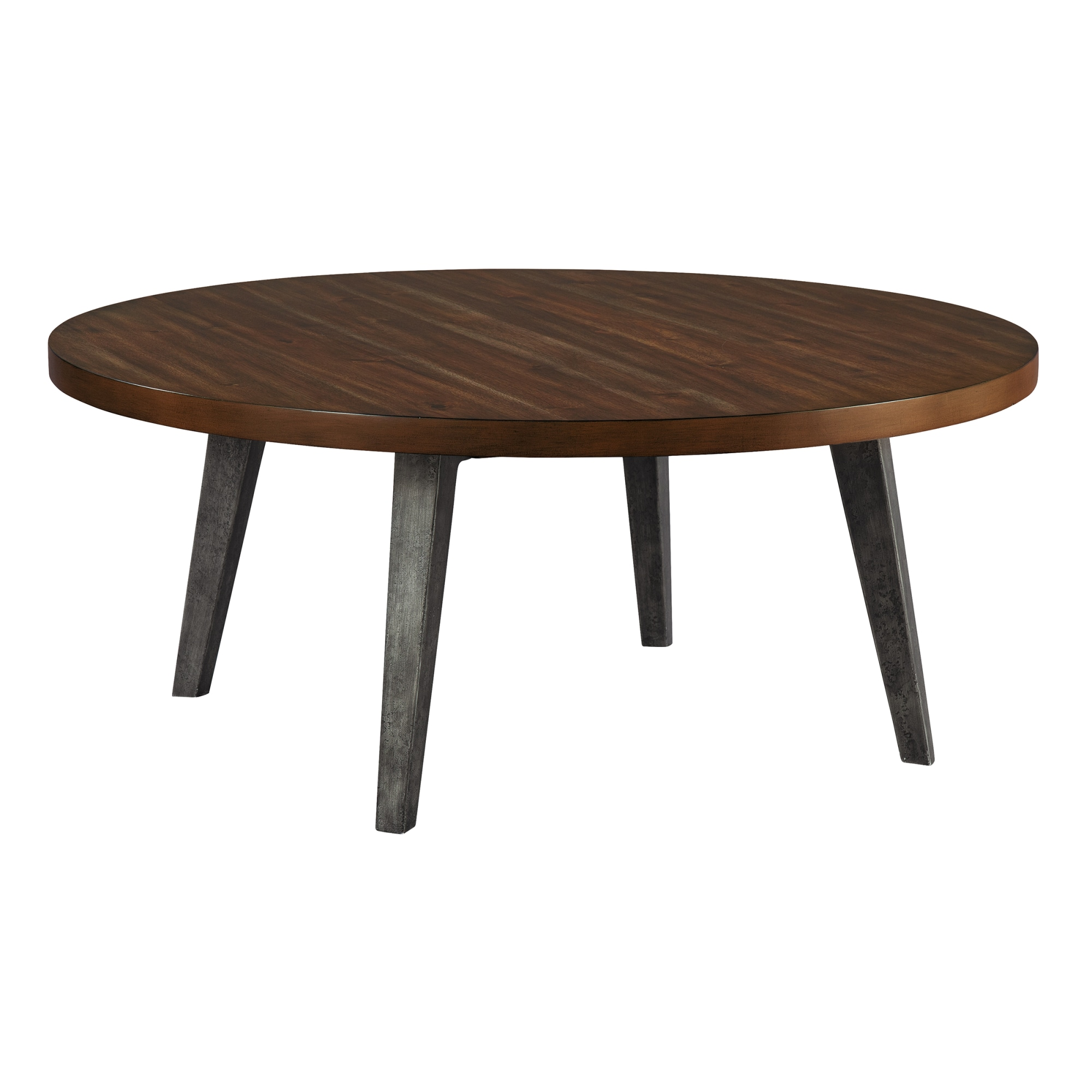 Image for 2-4305 Monterey Point Splayed Leg Round Coffee Table from Hekman Official Website