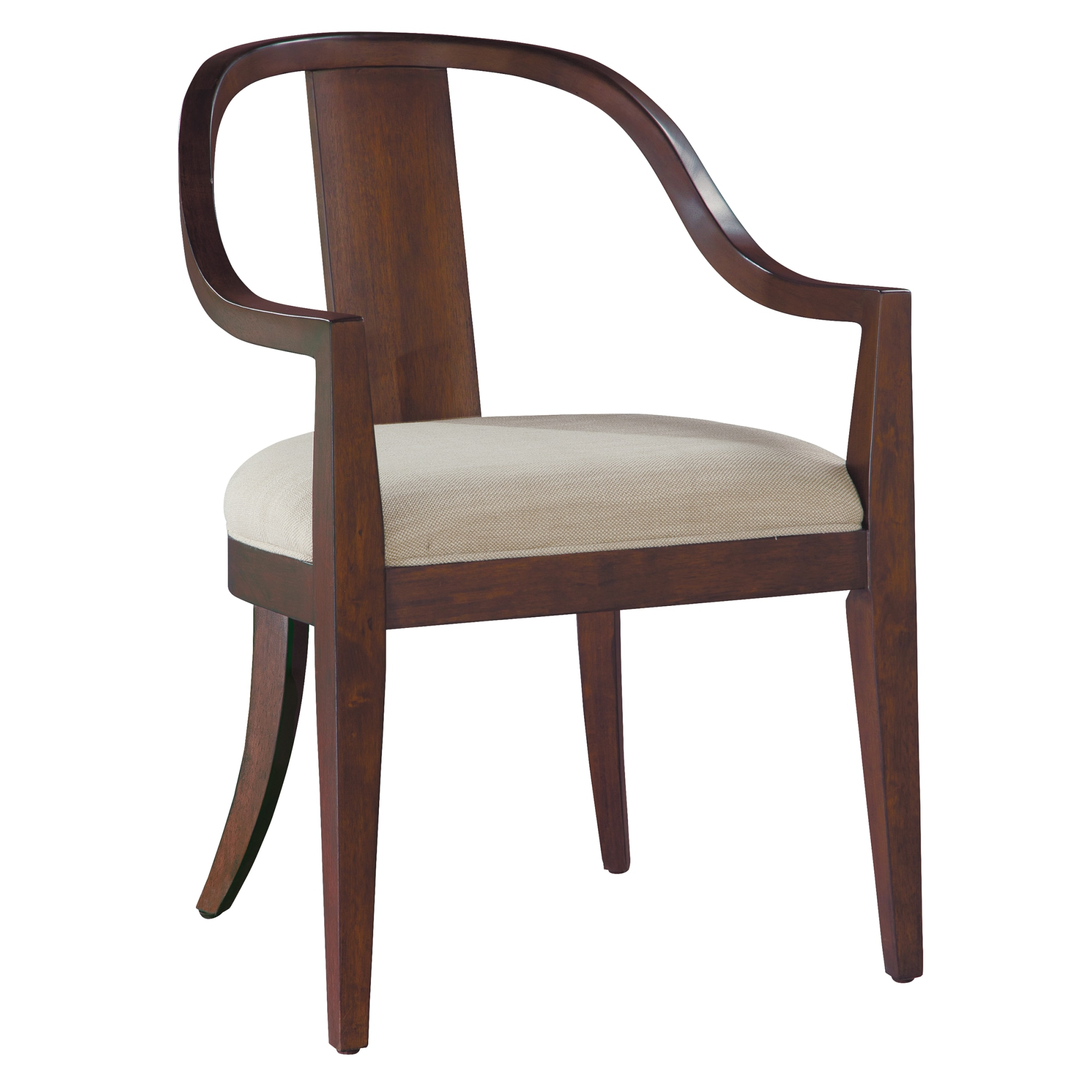 Image for 2-4324 Monterey Point Curved Back Arm Chair from Hekman Official Website