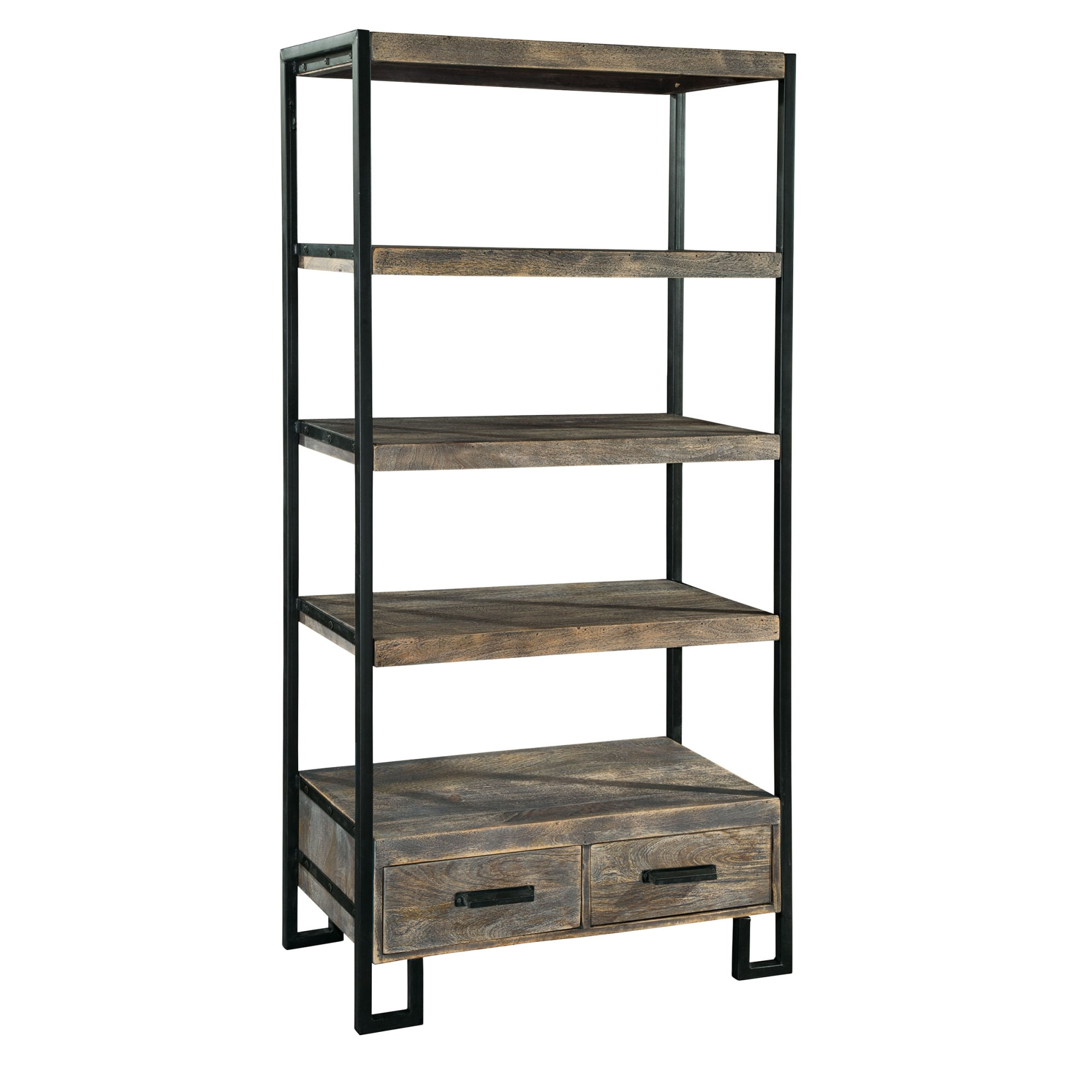 Image for 2-7829 office@home Santa Cruz Open Bookcase with Drawer from Hekman Official Website