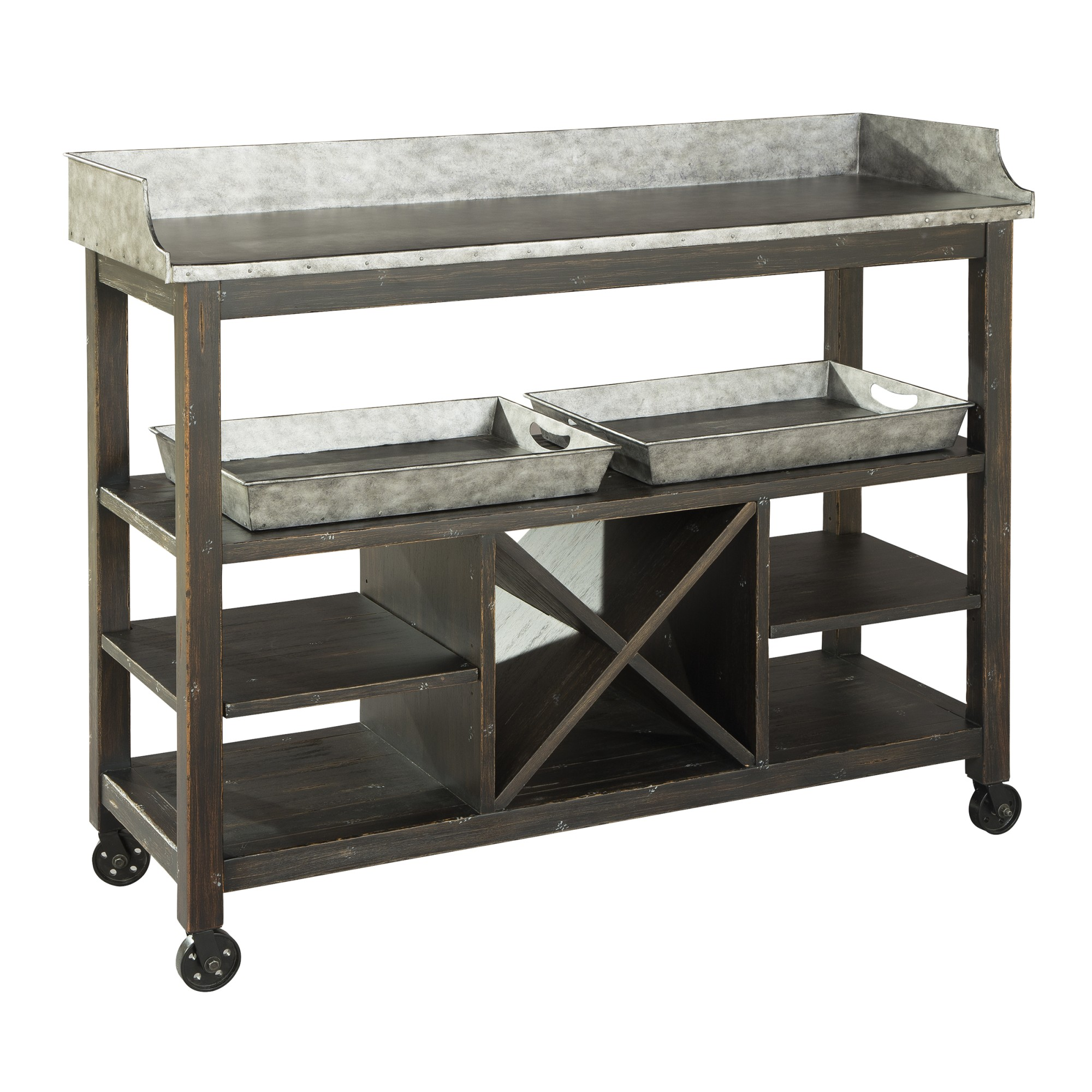 Image for 2-7879 Metal Console/Serving Cart from Hekman Official Website