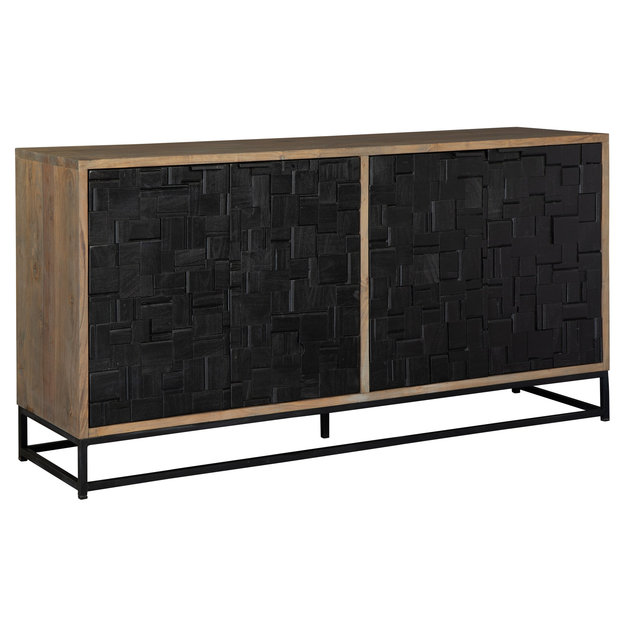 Image for 2-8340 Scrap Parquet Entertainment Center from Hekman Official Website