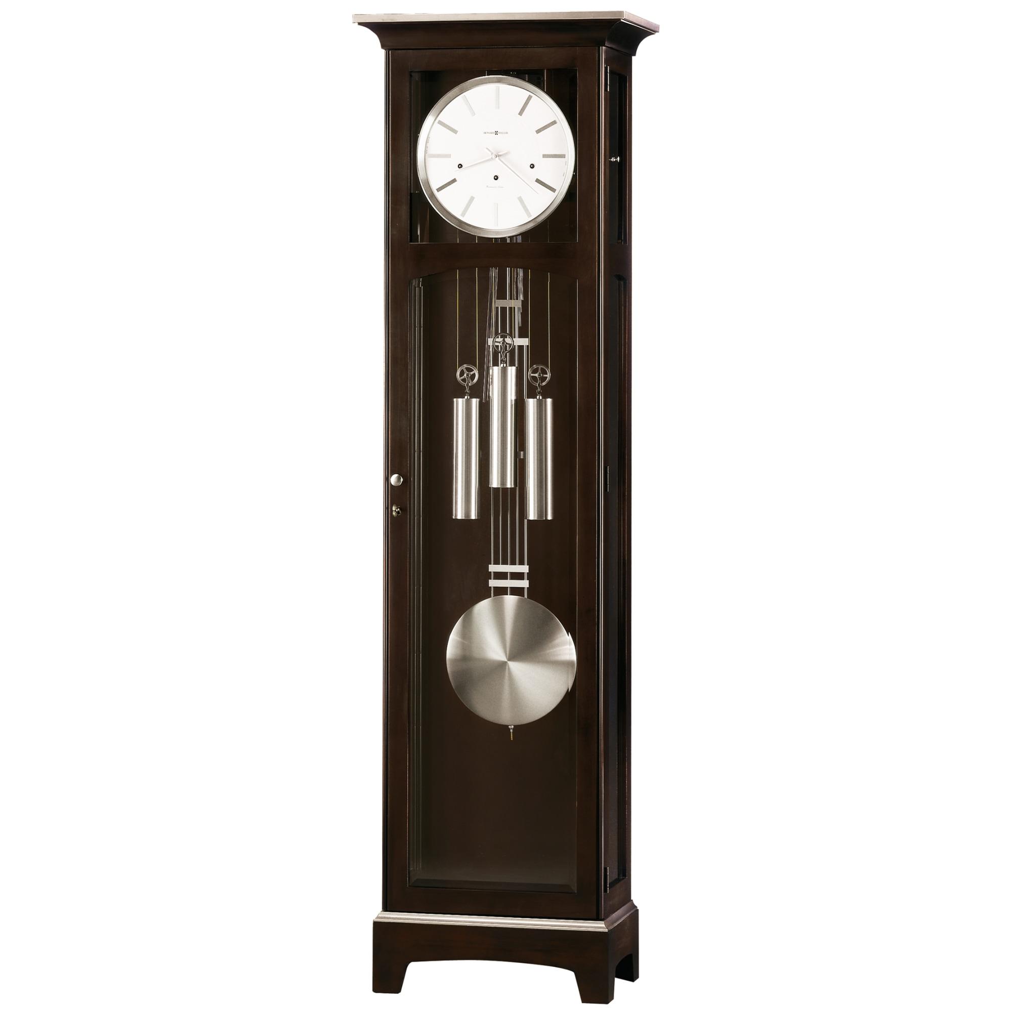 Image for Howard Miller Urban Floor II Wooden Floor Clock 610866 from Howard Miller Official Website