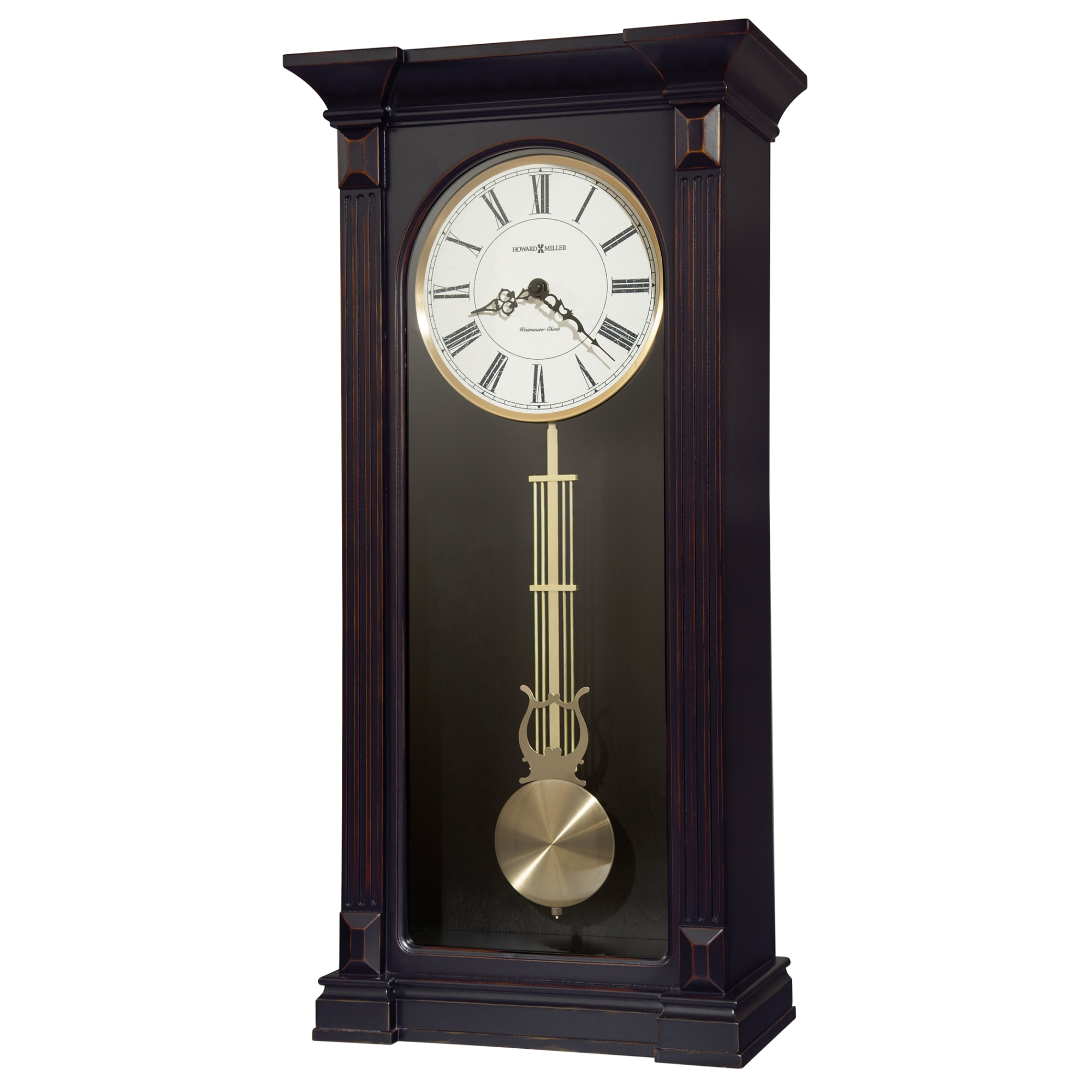 Image for Howard Miller Mia Hardwood Wall Clock 625603 from Howard Miller Official Website