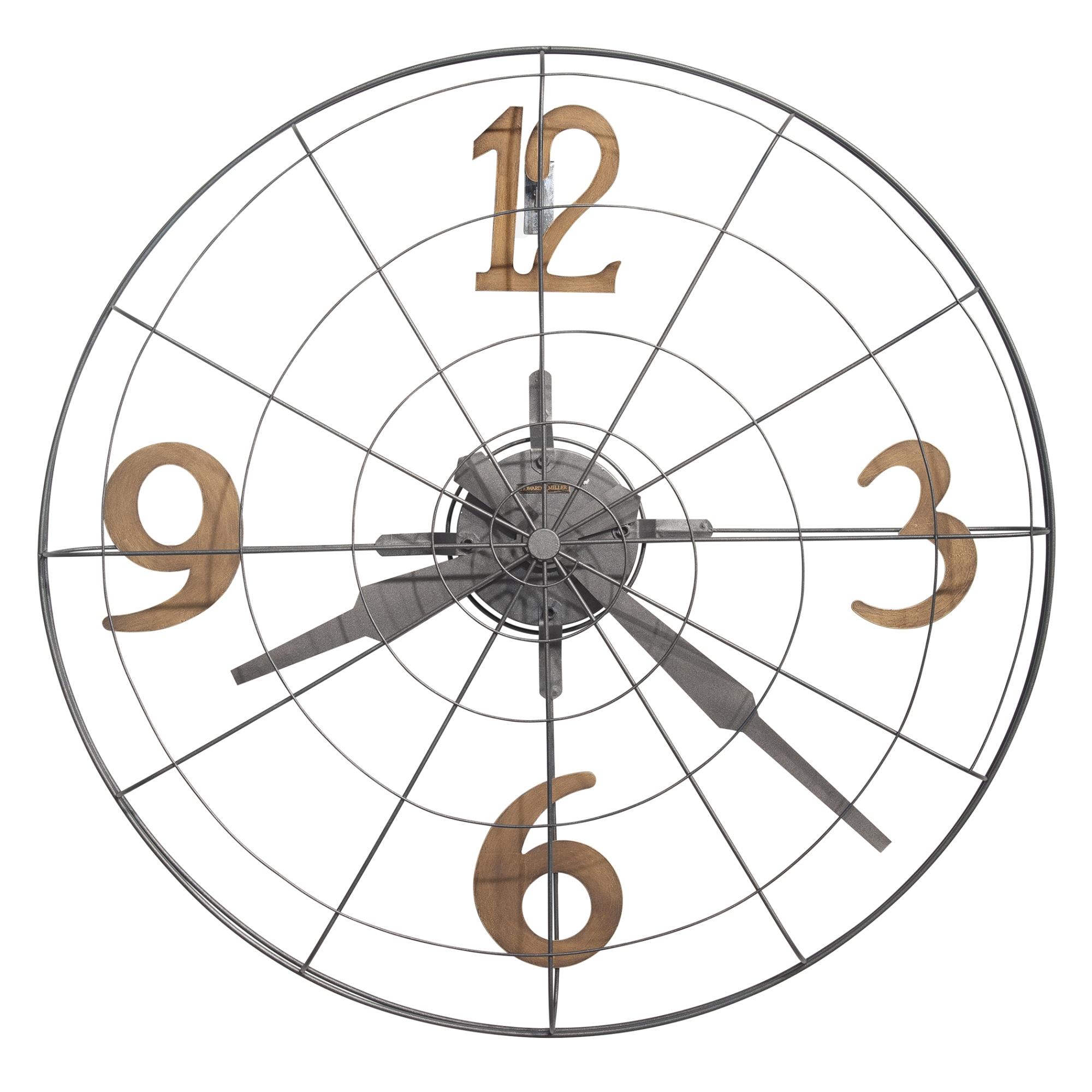Image for Howard Miller Phan Metal Oversized Wall Clock 625635 from Howard Miller Official Website