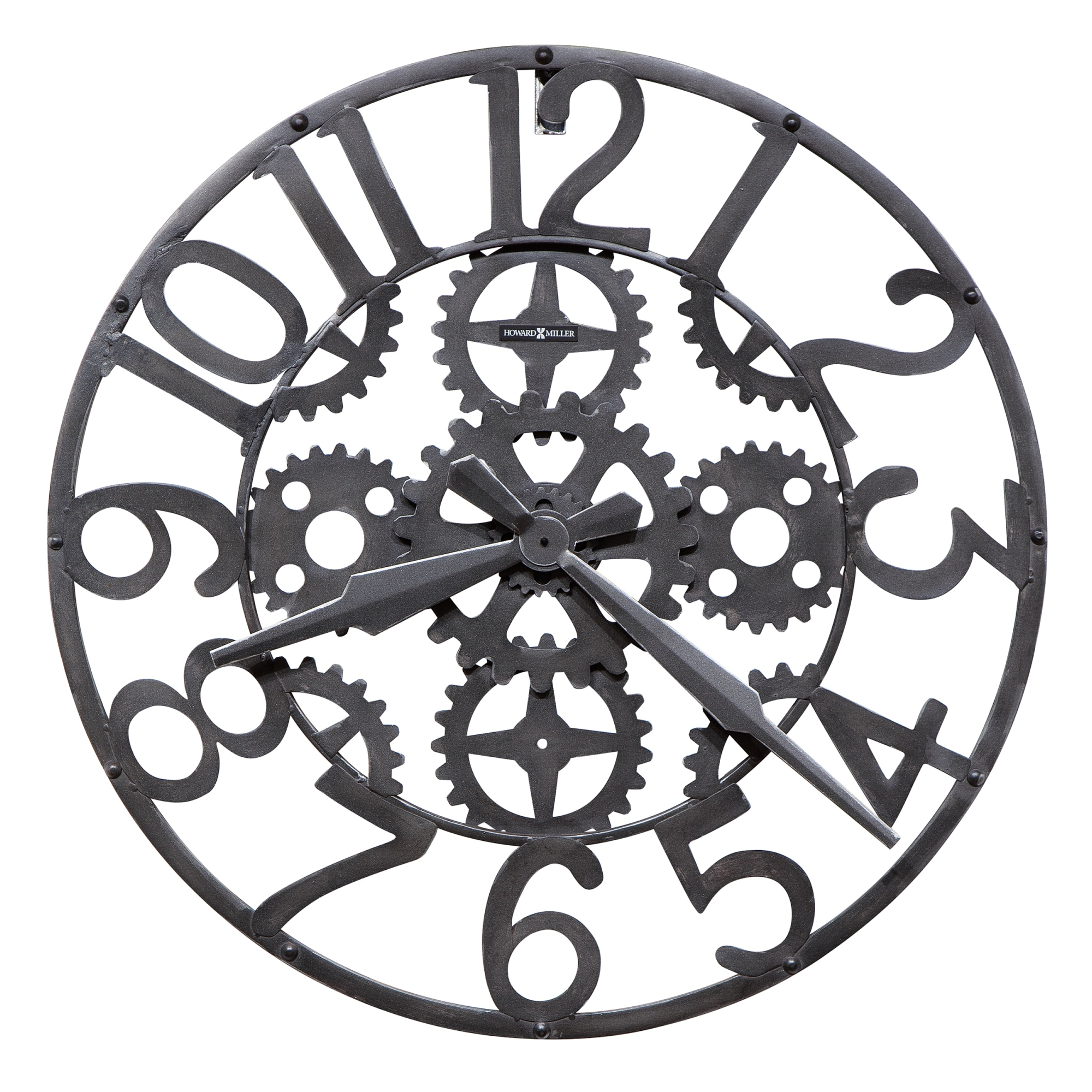 Image for 625-698 Iron Works Wall Clock from Howard Miller Official Website