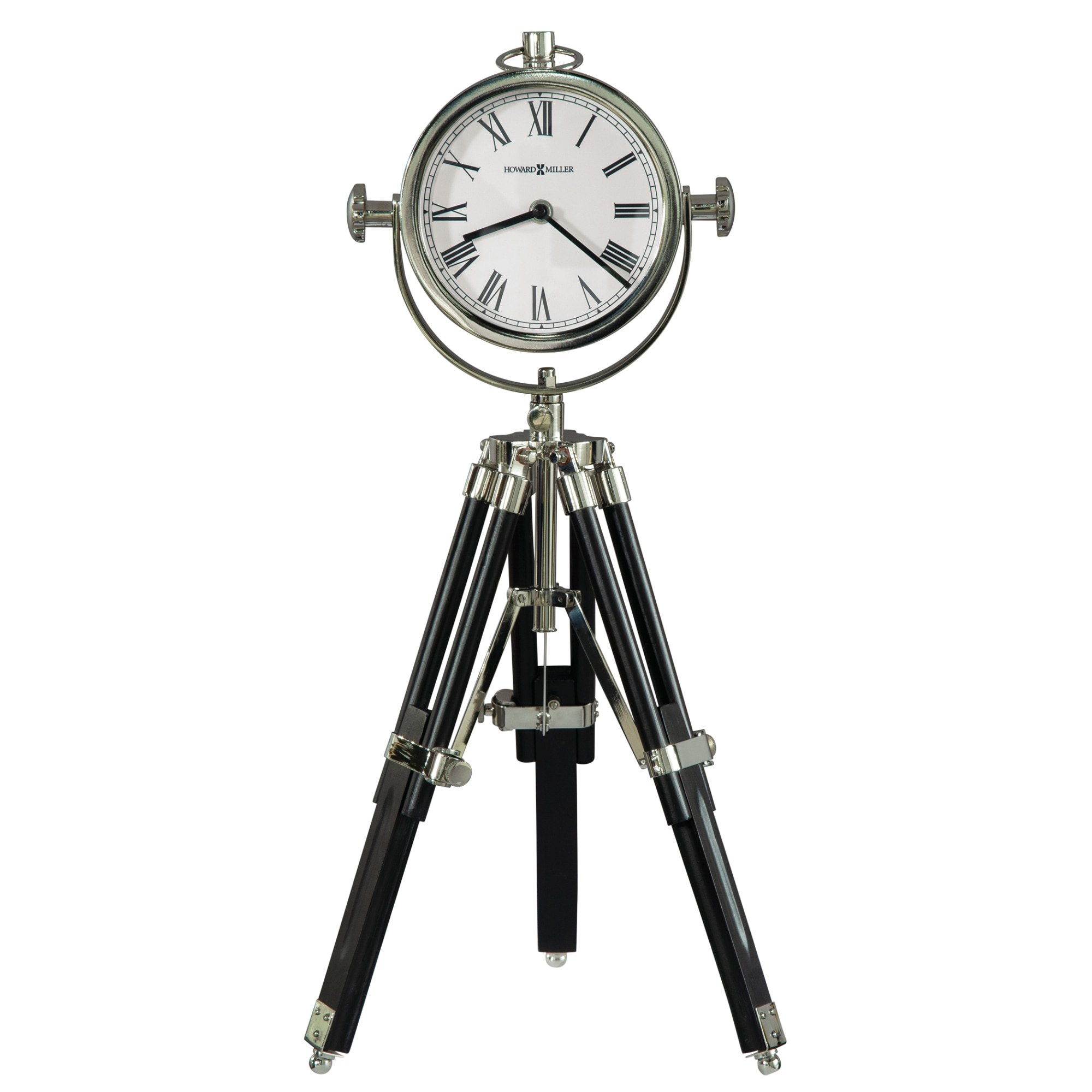 Image for Howard Miller Time Surveyor II Mantel Clock 635211 from Howard Miller Official Website