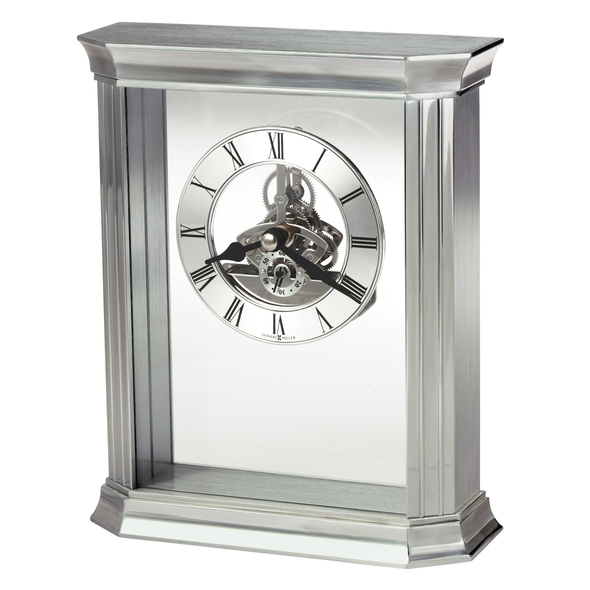 Image for Howard Miller Rothbury Silver Table Clock 645806 from Howard Miller Official Website