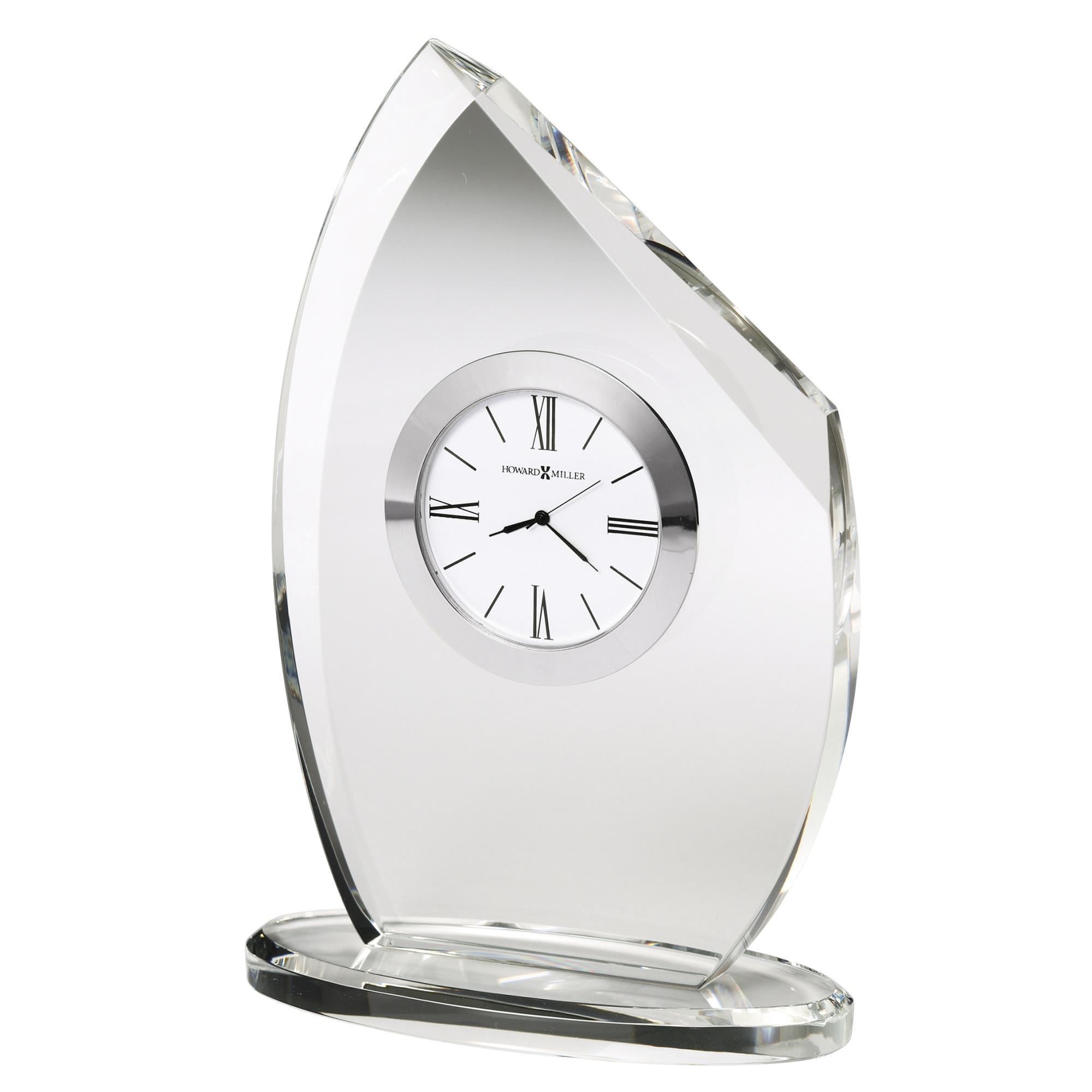 Image for Howard Miller Cascade Crystal Table Clock 645810 from Howard Miller Official Website