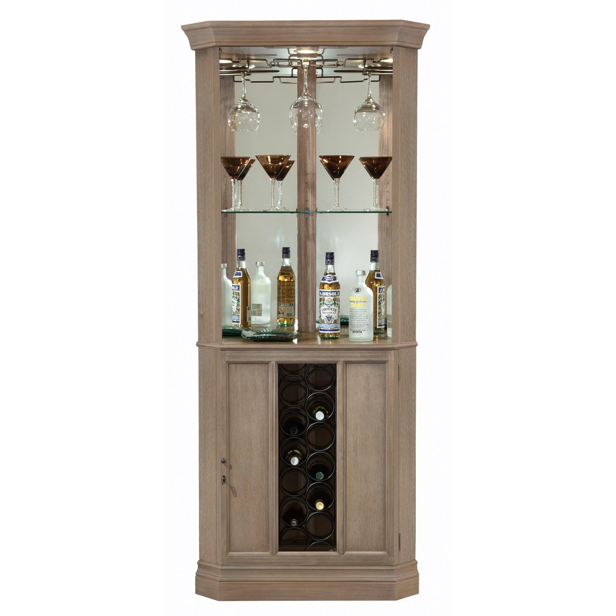Image for 690-047 Piedmont VI Corner Wine & Bar Cabinet from Howard Miller Official Website