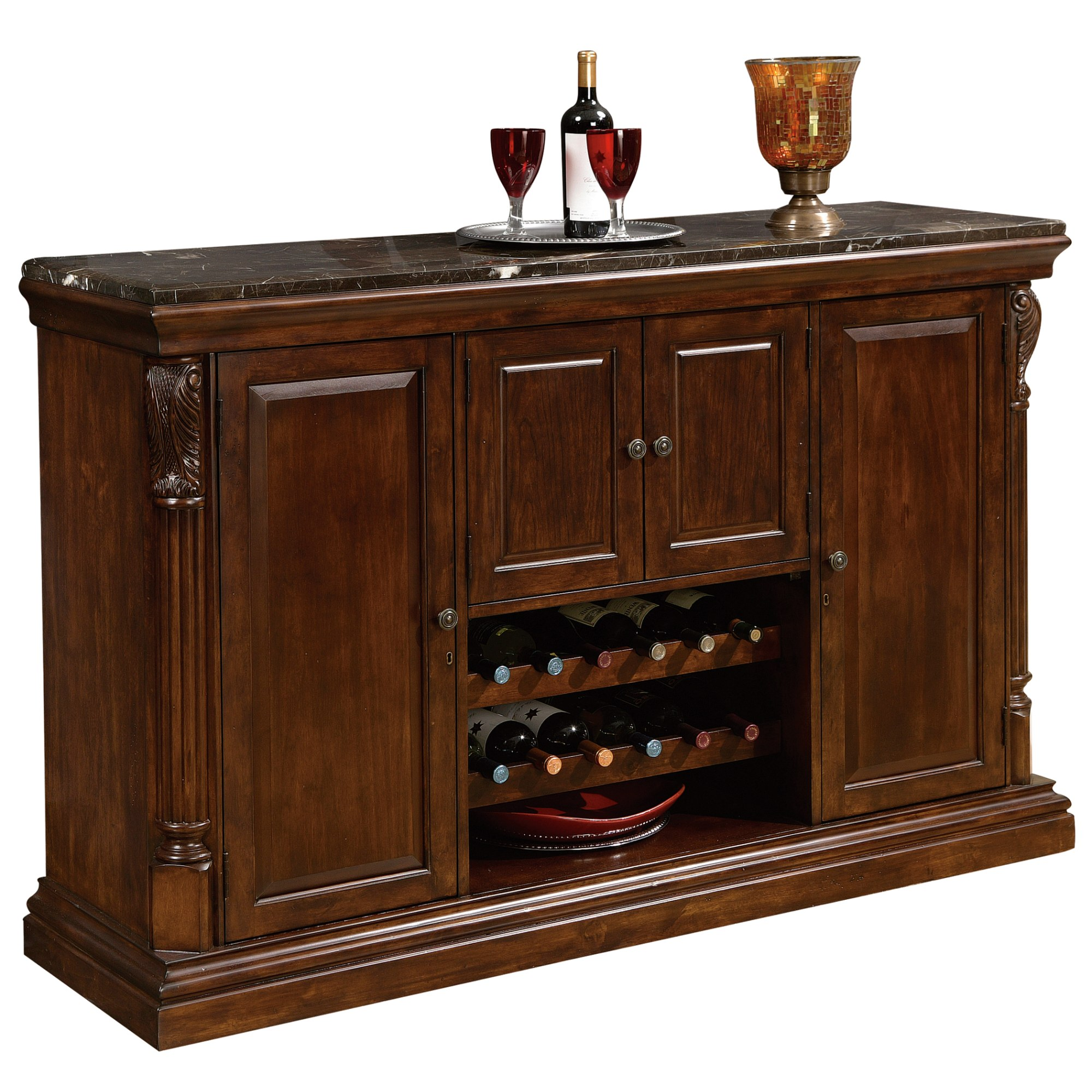 Image for 693-006 Niagara Bar Console from Howard Miller Official Website