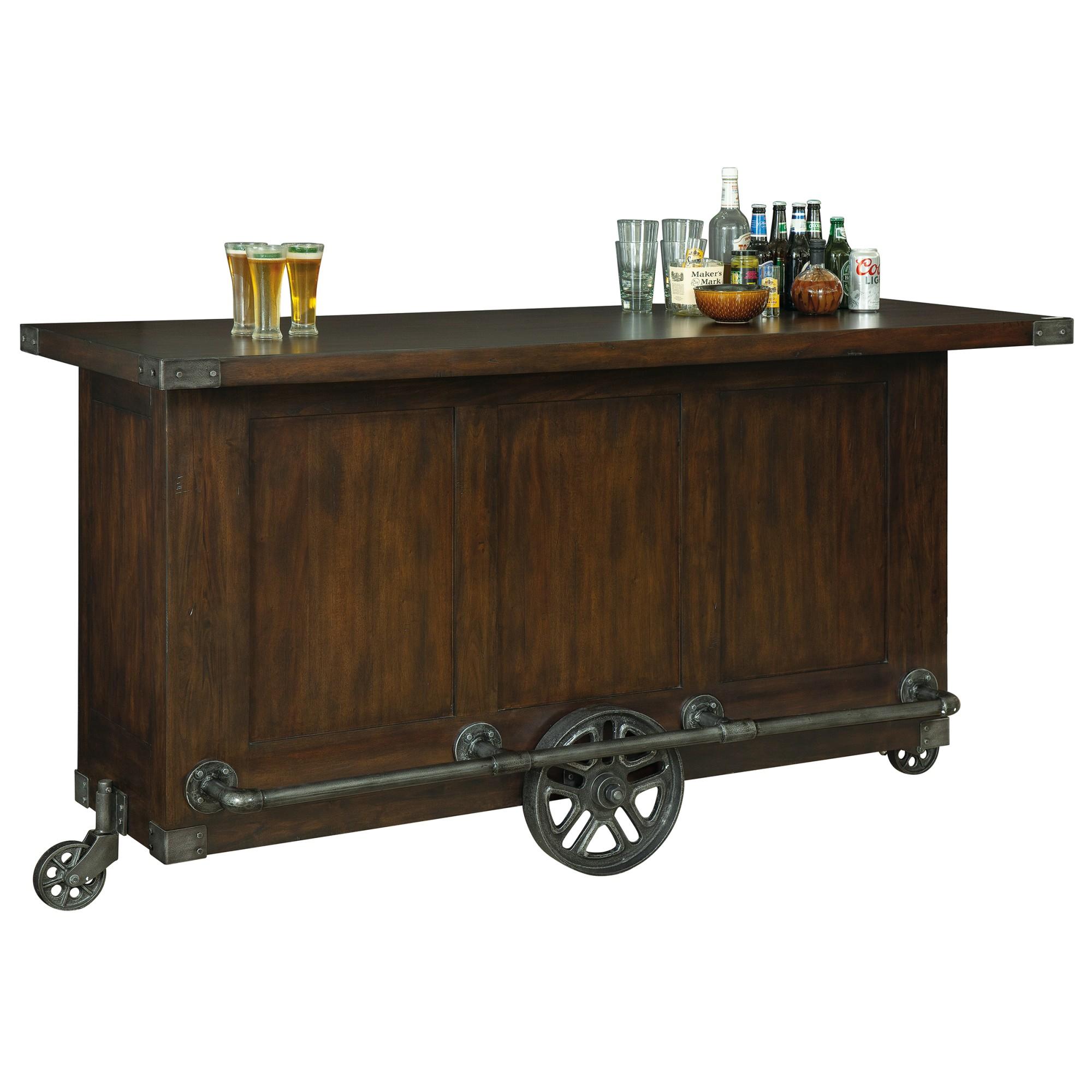 Image for 693-040 Bev Trolley Bar from Howard Miller Official Website